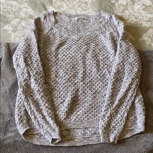 Nordstrom BP waffle knit sweater